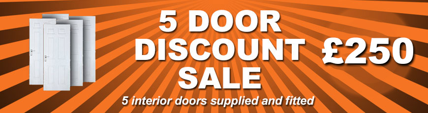 5 Door Discount Sale